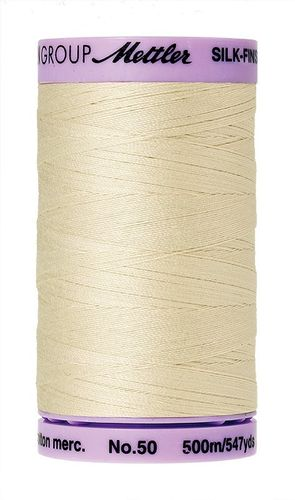 Mettler Silk Finish 50 Antique White, 500m