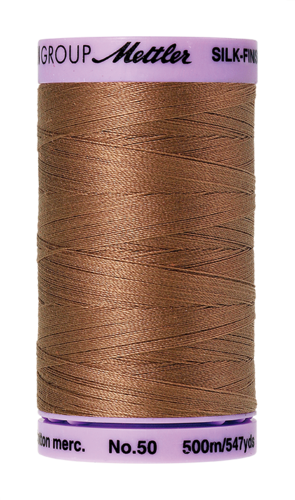 Mettler Silk Finish 50 Walnut, 500m