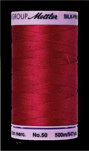Mettler Silk Finish 50 Country Red