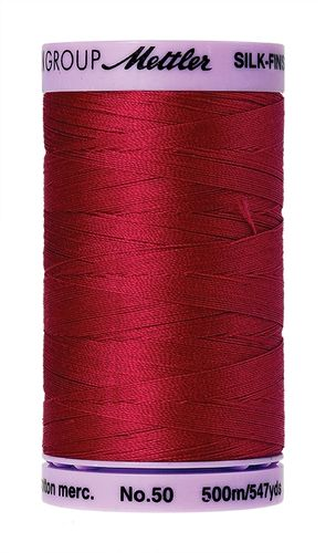 Mettler Silk Finish 50 Country Red, 500m