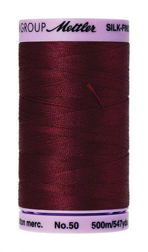 Mettler Silk Finish 50 Cranberry, 500m