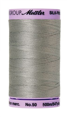 Mettler Silk Finish 50 Titan Gray, 500m