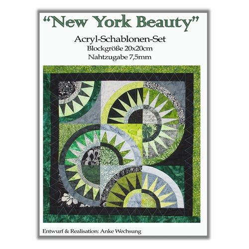 Schablonensatz New York Beauty