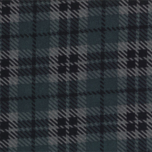 Bold Plaid Blue Flannel
