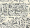 NY City Map Black White