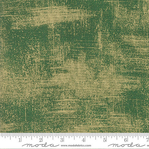 Luxe Brushstroke Evergreen