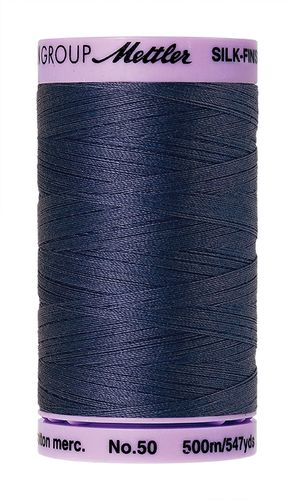 Mettler Silk Finish 50 True Navy, 500m