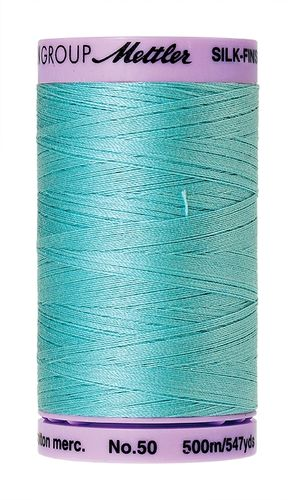 Mettler Silk Finish 50 Blue Curacao, 500m