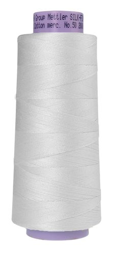 Mettler Silk Finish 50 White, 1829m