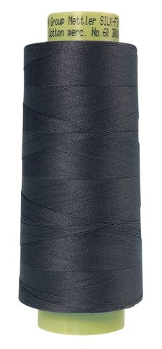 Mettler Silk Finish 60 Dark Charcoal, 2743m