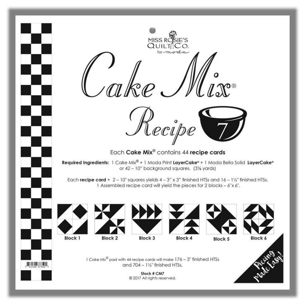 Cake Mix Recipe Moda