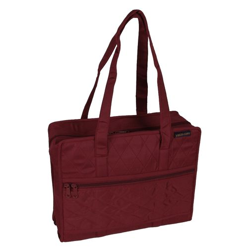 Quilters Project Bag, Maroon