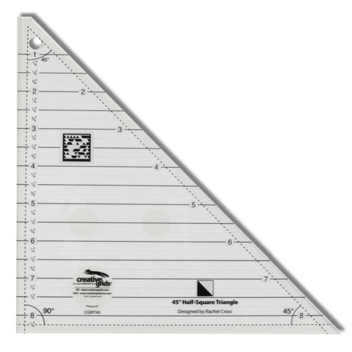 Half Square Triangle 8.5 Inch