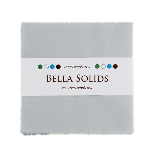 Bella Solids Silver Charm Pack