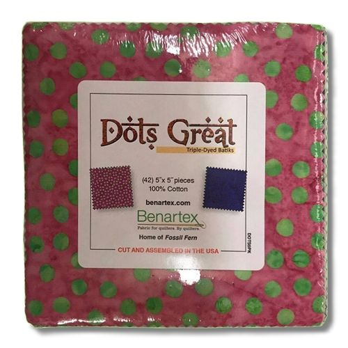 Bali Batik Dots Great 5x5 Pack