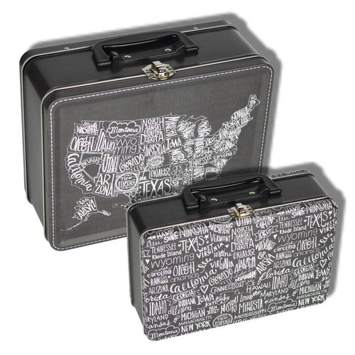 Lunchbox Tins Metropolis Set 2
