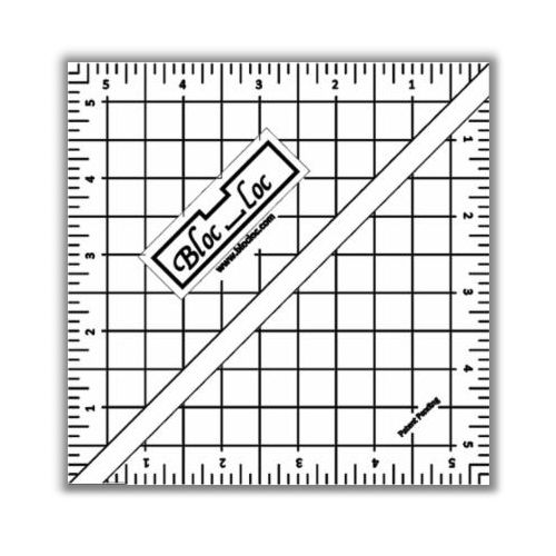 Half Square Triangle Ruler 5.5""