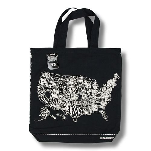 Metropolis Lined Canvas Bag