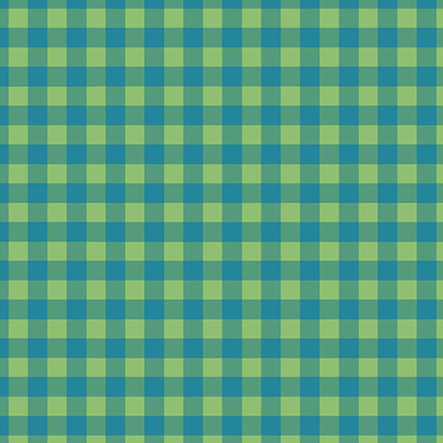Check Plaid Blue/Green