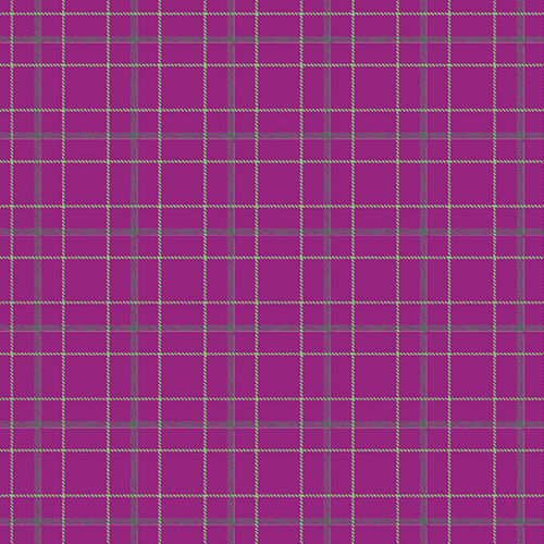 Double Plaid Magenta