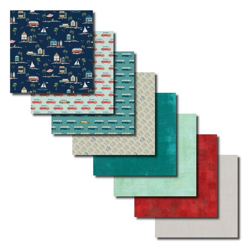 Offshore 2 Fat Quarters