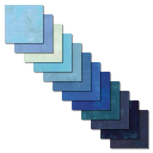 Grunge Blue Skies Fat Quarters
