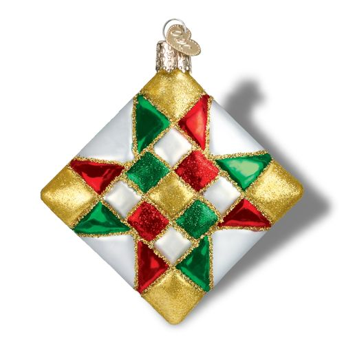Quilt Square Ornament Star