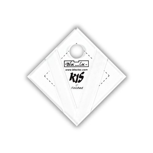 "Kite in a Square Ruler Set 1"" x 1"""