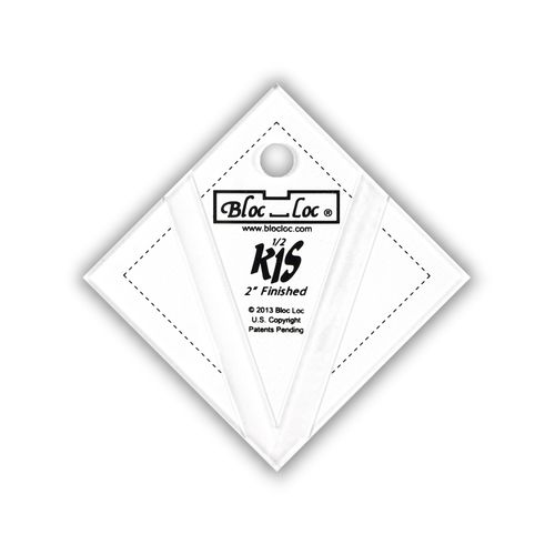 "Kite in a Square Ruler Set 2"" x 2"""