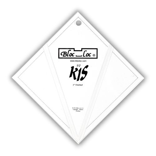 "Kite in a Square Ruler Set 5"" x 5"""