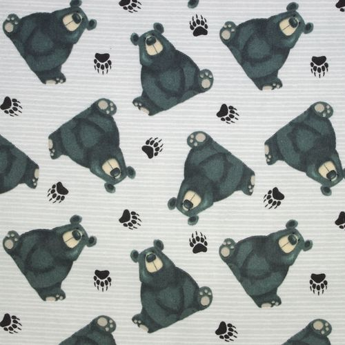 Tossed Bears Gray