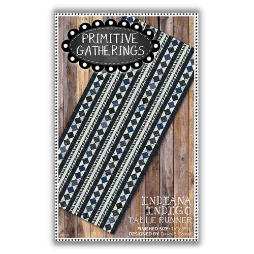 Anleitung Indiana Indigo Table Runner