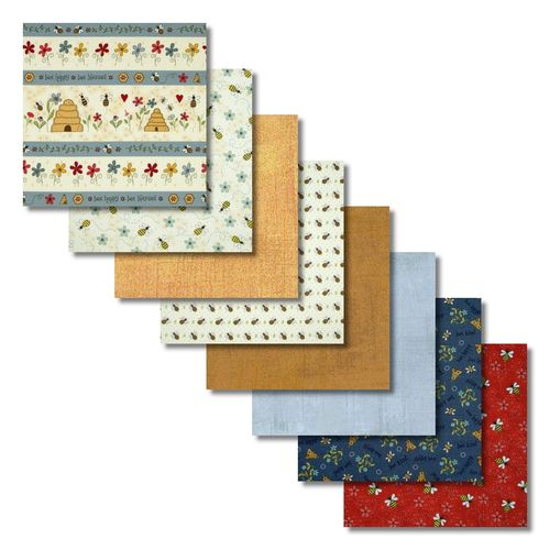 All About the Bees Fat Quarters