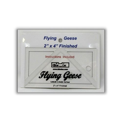 "Flying Geese Ruler 2"" x 4"""