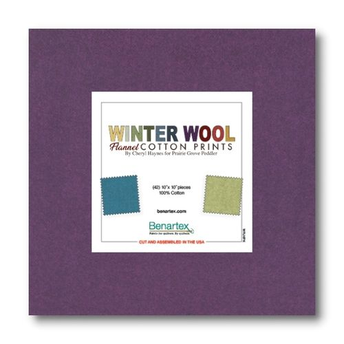 Winter Wool Flannel 10x10 Pack
