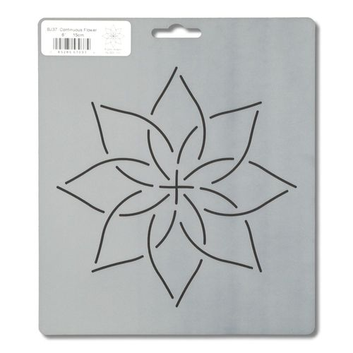 Quiltschablone Continuous Flower 6 inch