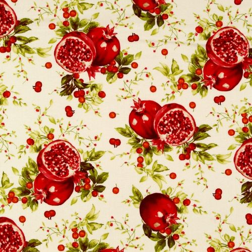 Cream Pomegranates