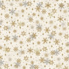 Magic Snowflake White/Gold