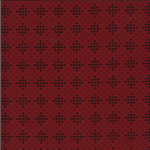 Checker Block Dark Red